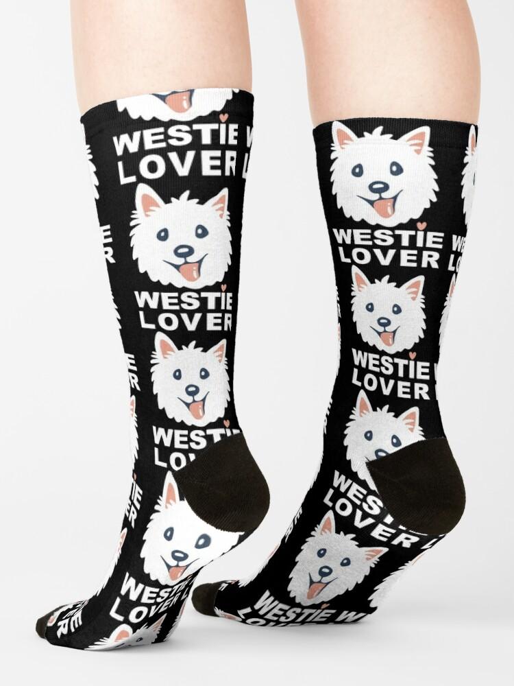 Alternate view of Westie Lover Socks