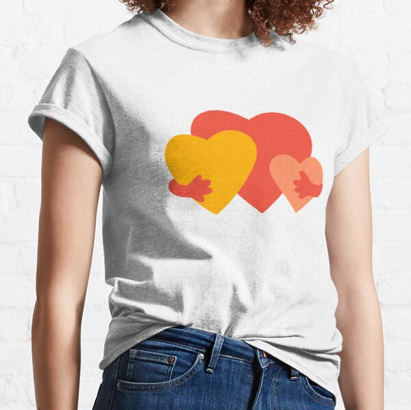 HUGGING HEARTS Classic T-Shirt