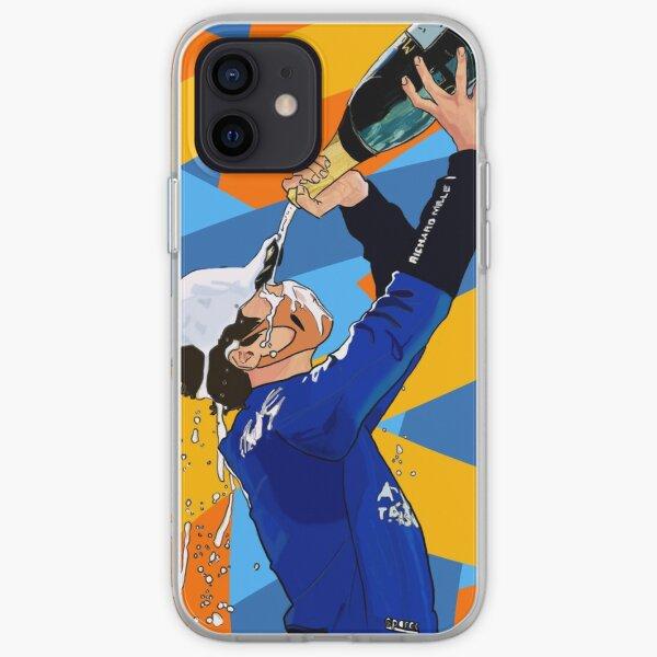 Lando Norris Podium Autriche coloré Coque souple iPhone