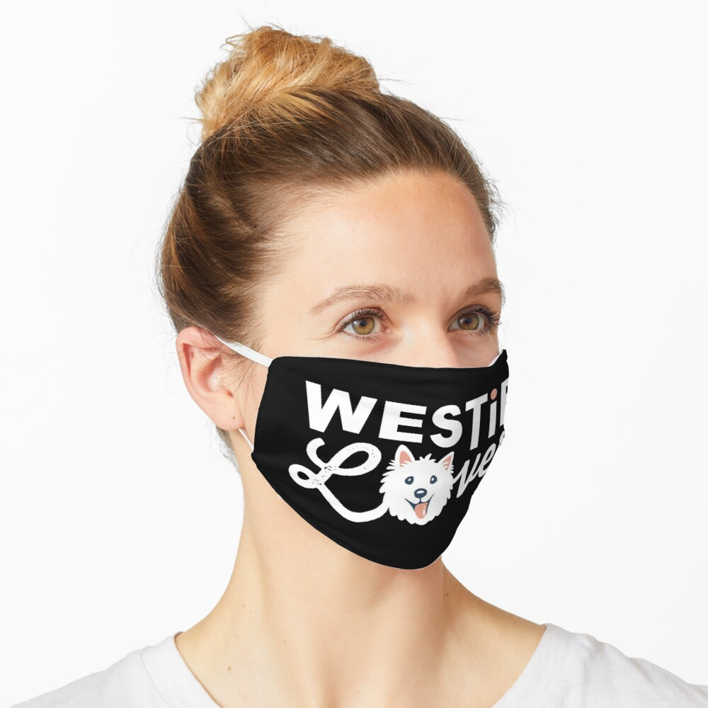 Westie Lover Mask
