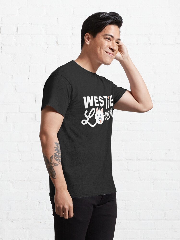 Alternate view of Westie Lover Classic T-Shirt