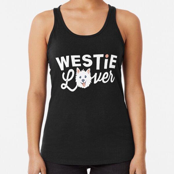 Westie Lover Racerback Tank Top