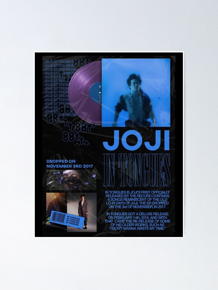 Alternate view of JOJI IN TONGUES POSTER Poster