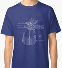 Fly me to the Moon - Nasa F1 Engine Blueprint Classic T-Shirt
