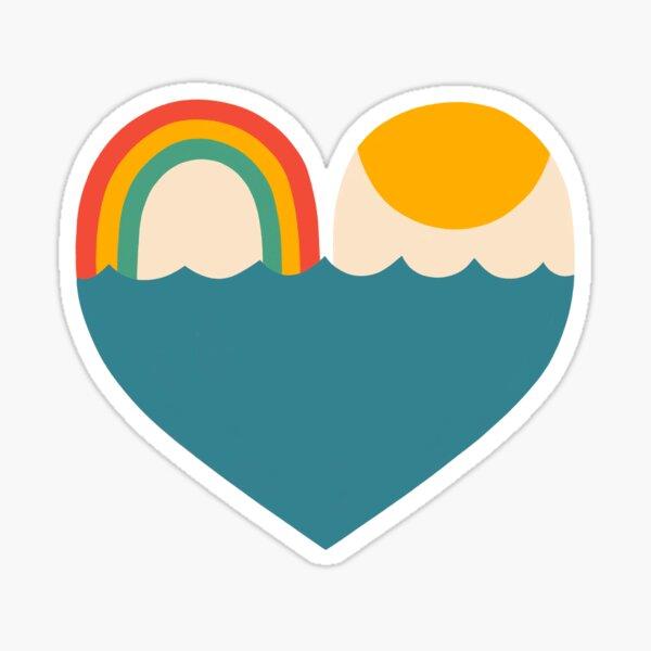 BLISSFUL HEART Sticker