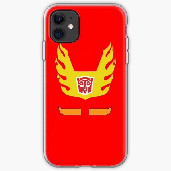 Hot Rod - Transformers 80s iPhone Soft Case