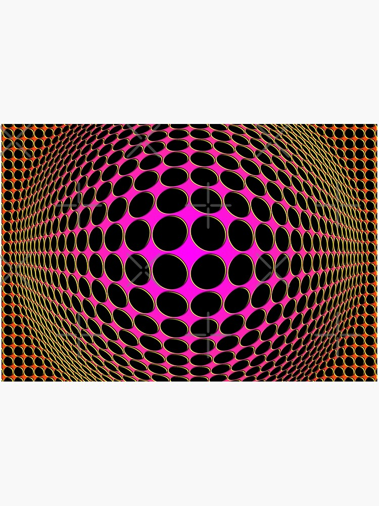 Victor Vasarely Homage 201 by Salocin