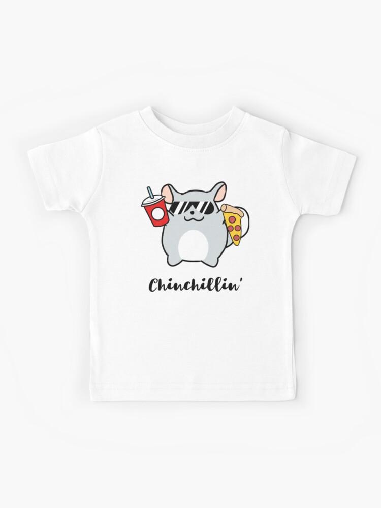 Summer Shirts Toddler Kids Tees Boy Shirts Nephew Funny Chinchillin Shirt Son Kids Chinchilla Shirt Kids Cool T Shirts Kids Gift