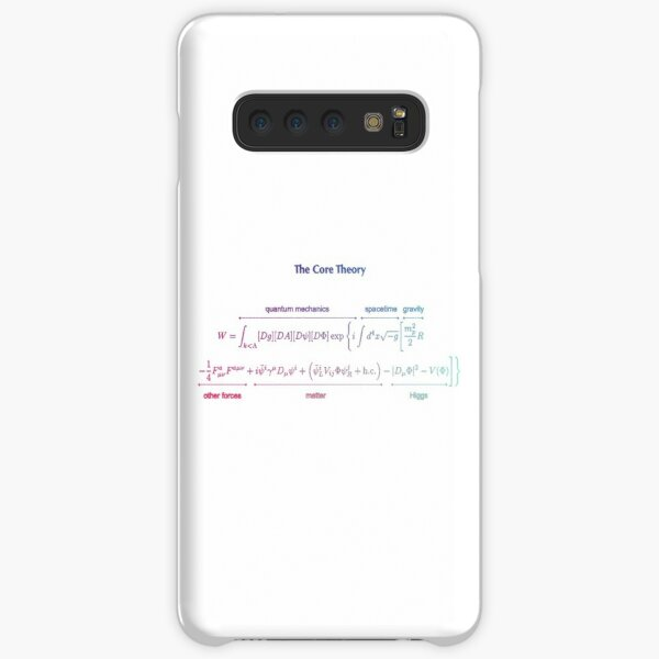 The Core Theory: Quantum Mechanics, Spacetime, Gravity, Other Forces, Matter, Higgs Samsung Galaxy Snap Case