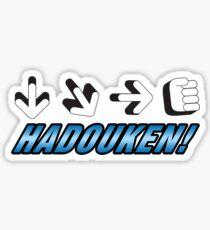 Hadouken Sticker