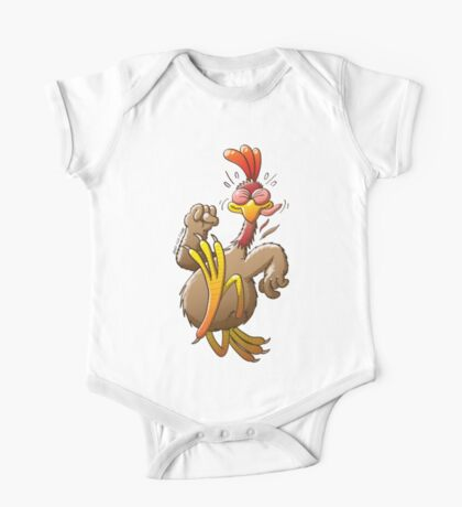 Chicken Running for His Life Kids Clothes