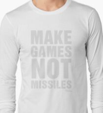 Make Games Not Missiles T-Shirt