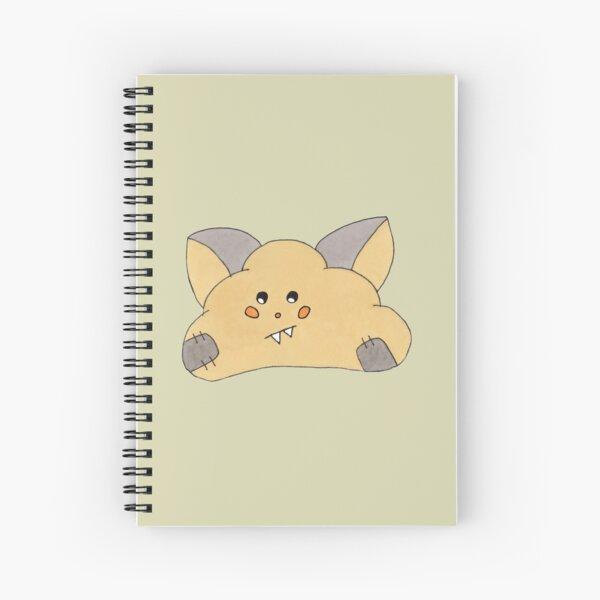 Super cute Halloween cloud  Spiral Notebook
