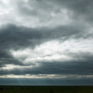 Cloudy Kansas by coldairballoon
