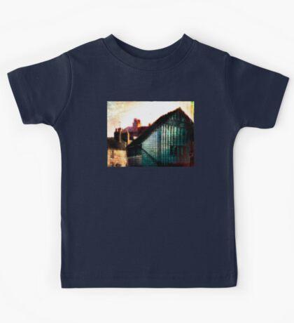A Perfect Blue Building Kids Clothes