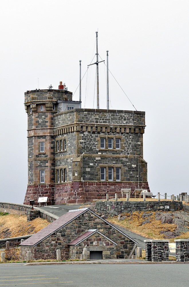 Cabot Tower, Newfoundland. by FER737NG