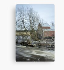 Old Mill 3 Metal Print