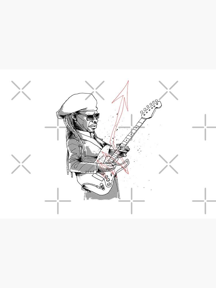 Nile Rodgers by Kicksaus