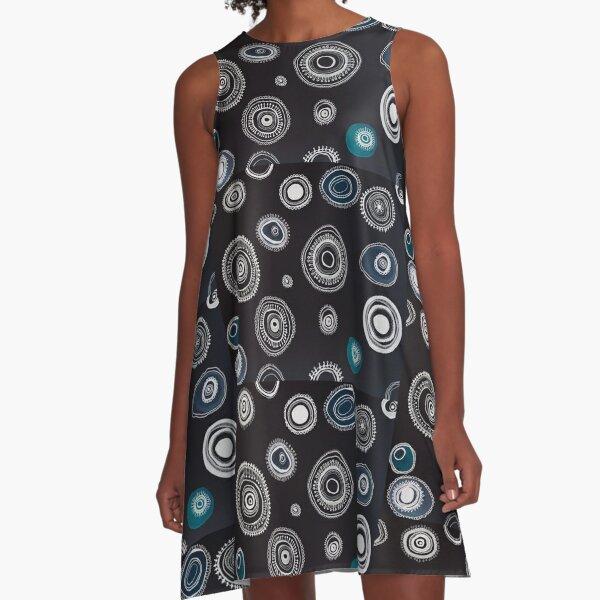 Energie II A-Linien Kleid