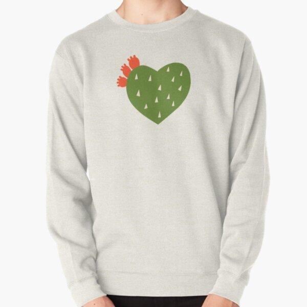 PRICKLY HEART Pullover Sweatshirt