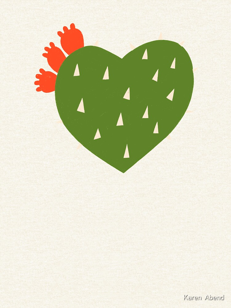 PRICKLY HEART by karenabend