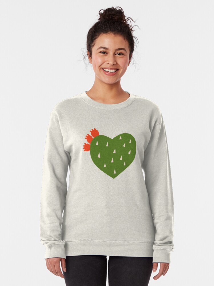 Alternate view of PRICKLY HEART Pullover Sweatshirt