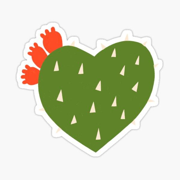 PRICKLY HEART Sticker