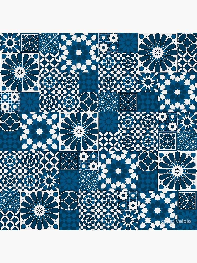 Moroccan tiles 3 by creativelolo