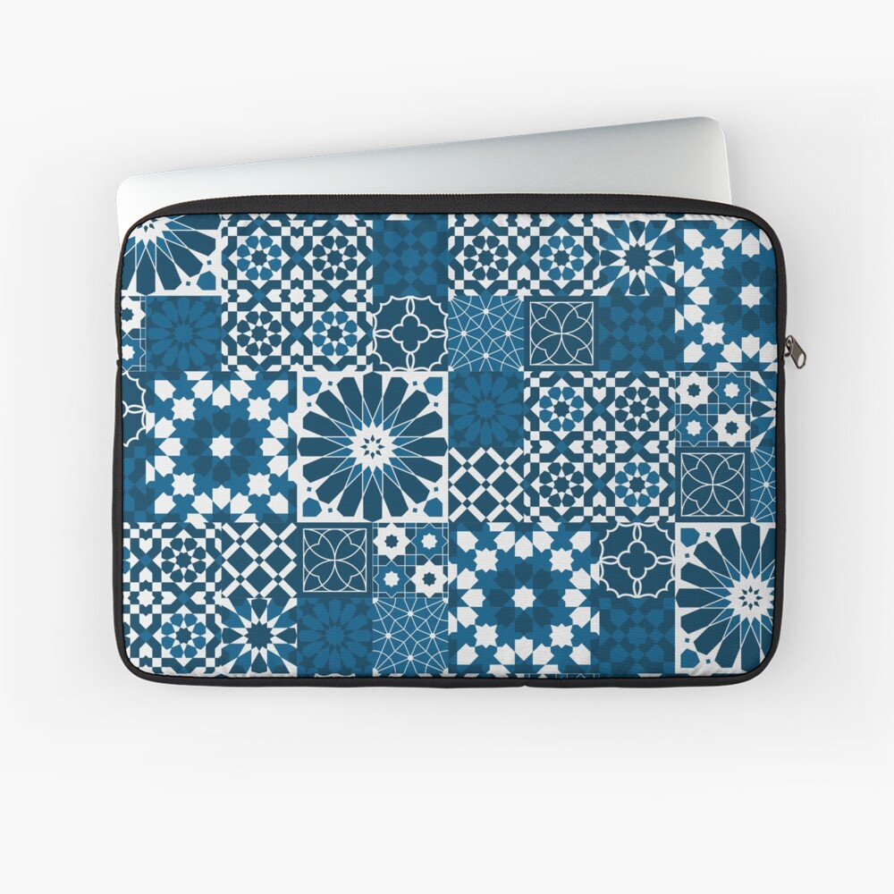Moroccan tiles 3 Laptop Sleeve