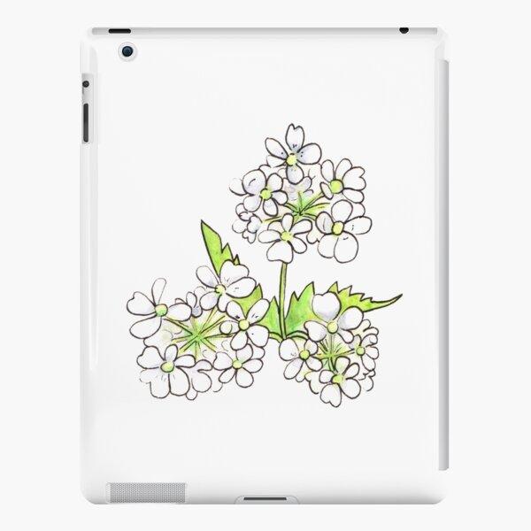 Cow Parsley Flower iPad Snap Case