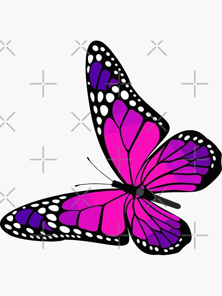 Butterfly Sticker by stickysterscom