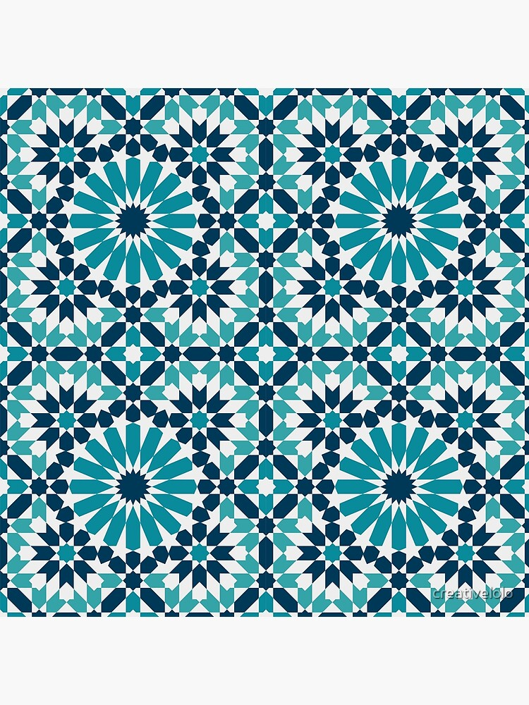 Moroccan tiles 4 by creativelolo