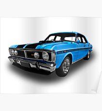 Ford - 1971 XY GT Falcon Sedan Poster