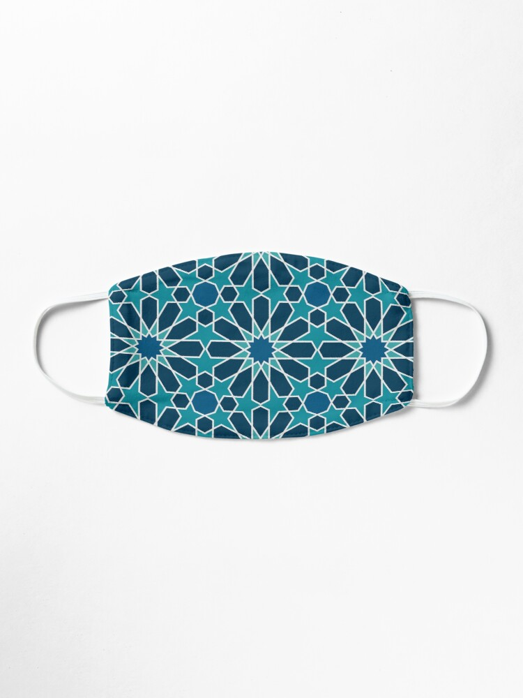 Alternate view of Moroccan tiles 5 Mask