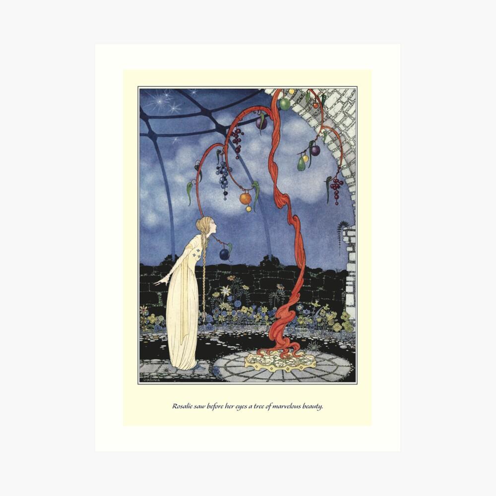 Old French Fairy Tales: A Tree of Marvelous Beauty Kunstdruck