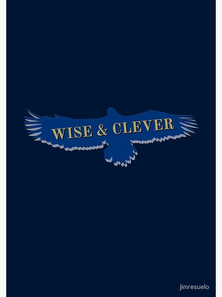 Blue Eagle Raven Flying by jimresuelo