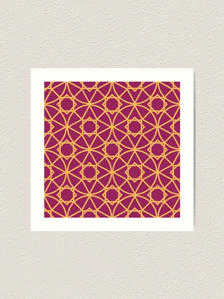 Alternate view of Moroccan 5 Art Print