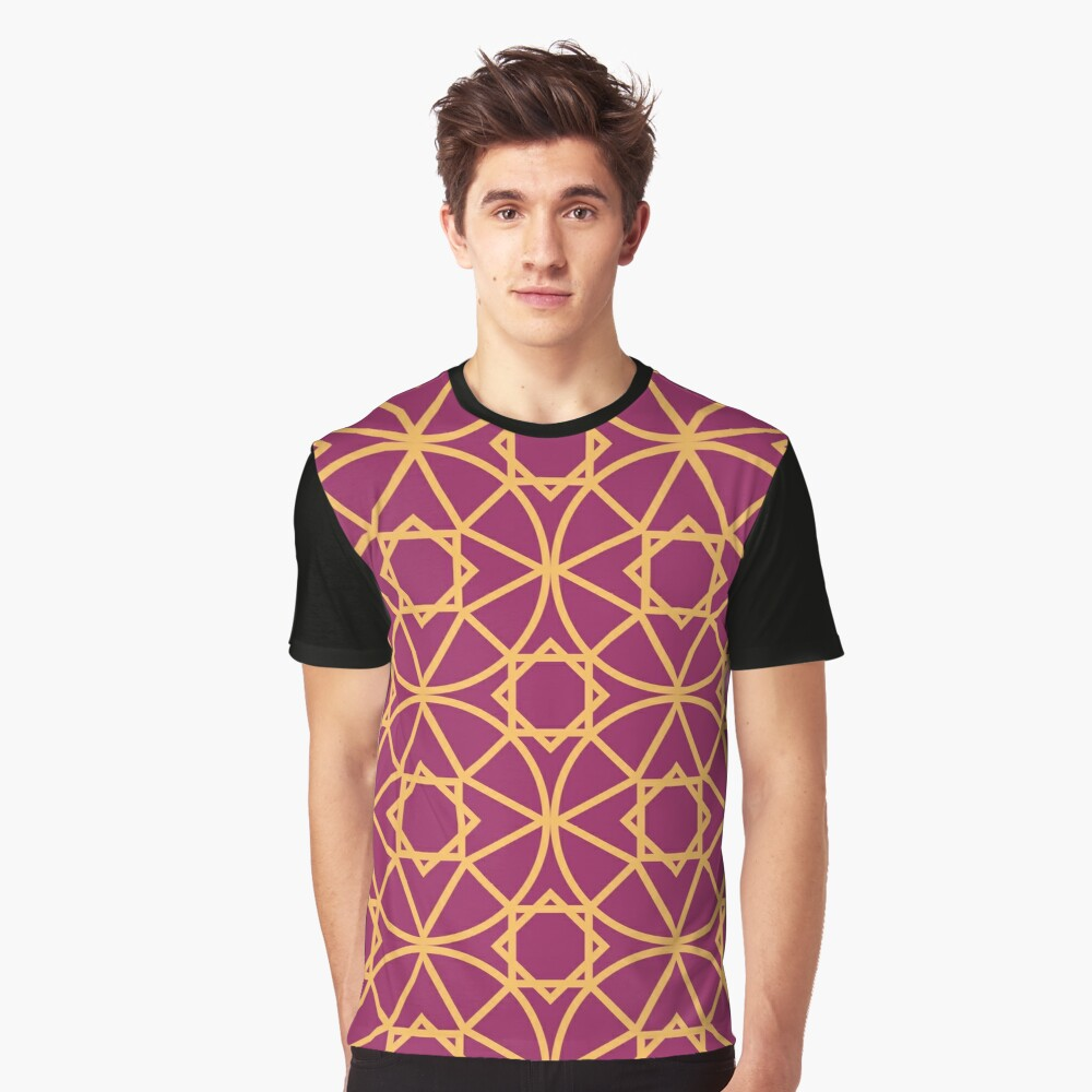 Moroccan 5 Graphic T-Shirt