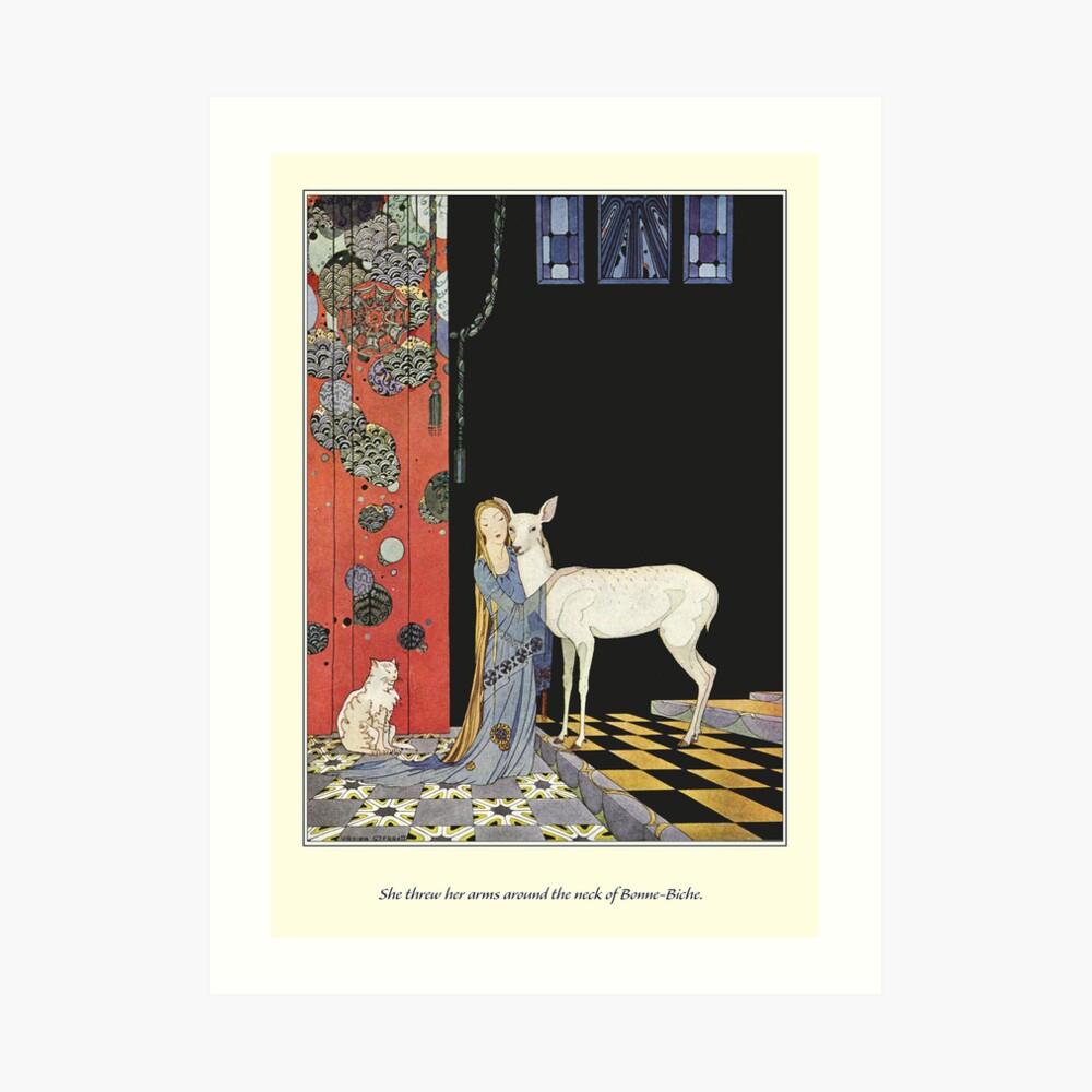 Old French Fairy Tales: Bonne-Biche Kunstdruck