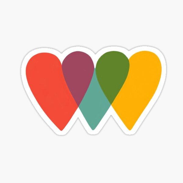 UNITED HEARTS Sticker