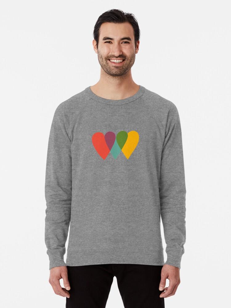 Alternate view of UNITED HEARTS Lightweight Sweatshirt