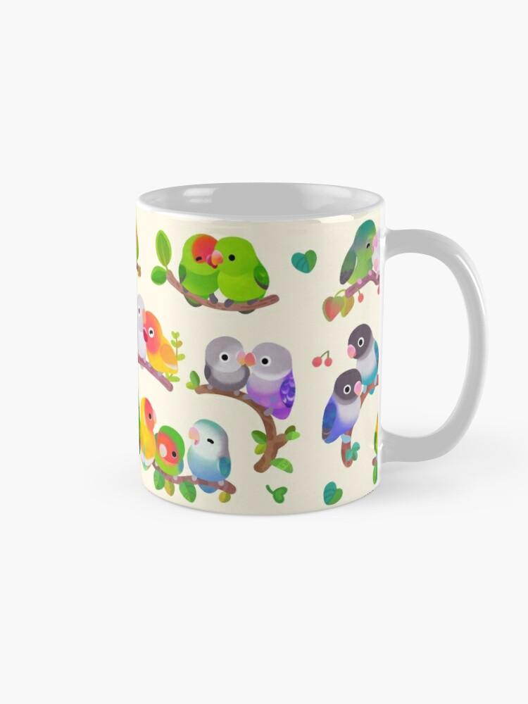 Alternate view of Lovebird Mug