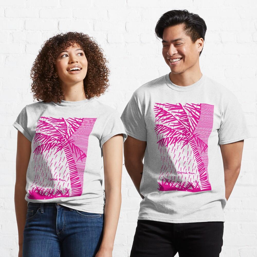 Tropical Rain Prime Magenta Classic T-Shirt