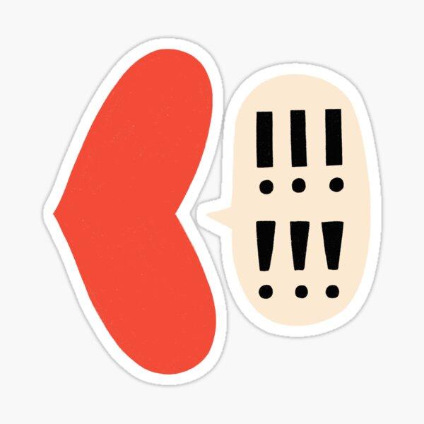 VOCAL HEART Sticker