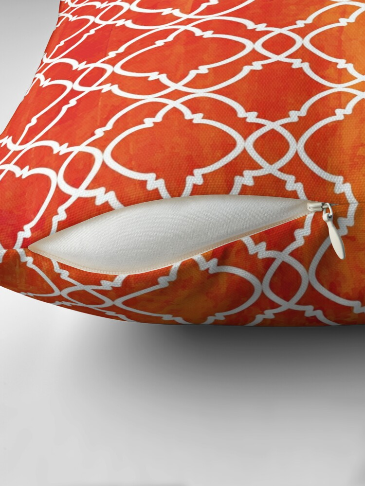 Alternate view of Moroccan 7 Throw Pillow