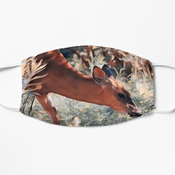 Doe in the Morning Flat Mask