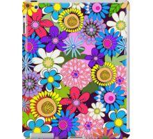 Cute retro flowers case iPad Case/Skin