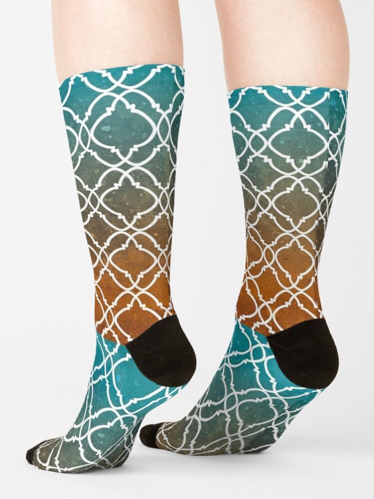 Alternate view of Moroccan 8 Socks
