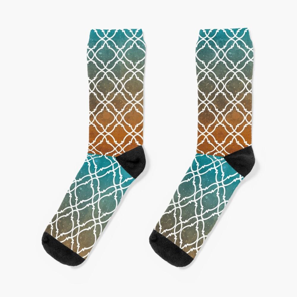 Moroccan 8 Socks