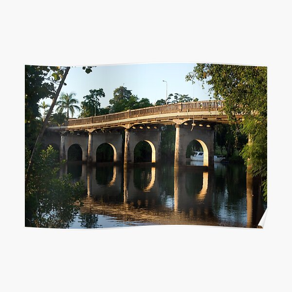 End of an Era ~ East Innisfail Jubilee Bridge, FNQ, AU  Poster